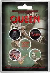 Queen News Of The World Button Badge Set