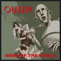 Queen News Of The World (Packaged) Sew-On Patch