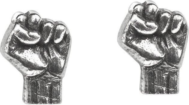 Rage Against The Machine Fist Stud Earrings