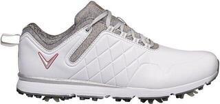 Callaway Mulligan Womens Golf Shoes White/Heather