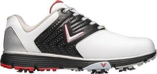 Callaway Chev Mulligan S 2019 Mens Golf Shoes White/Black/Red UK 10,5