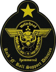 Motörhead Support Division Cut Out Sew-On Patch