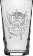 Motörhead Warpig Etched Print Beer Glass