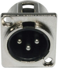 ADJ AC-C-XM3 XLR 3pin Male Panel Metal