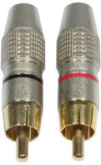 ADJ AC-C-RMG/SET RCA Cinch Plug Male Gold