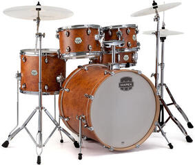 Mapex ST5245FIC Storm 5Pc Fusionease Drum Set Camphor Wood Grain
