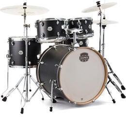 Mapex ST5245FIK Storm 5Pc Fusionease Drum Set Ebony Blue Grain