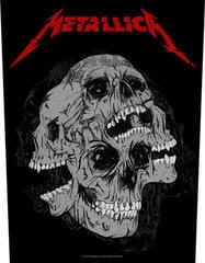 Metallica Skulls Backpatch