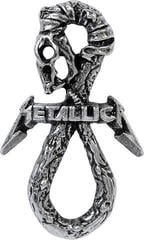 Metallica Snake Pin Badge