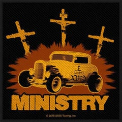 Ministry Jesus Built My Hotrod Sew-On Patch