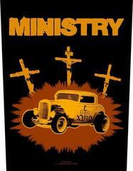 Ministry Jesus Built My Hotrod Backpatch