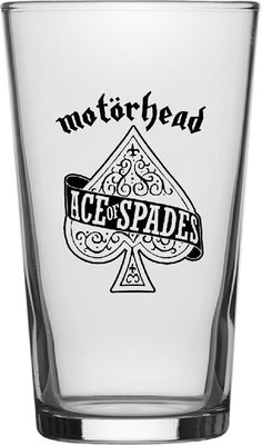 Motörhead Ace Of Spades Beer Glass