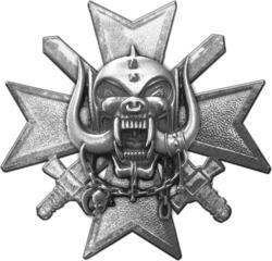 Motörhead Bad Magic Metal Pin Badge