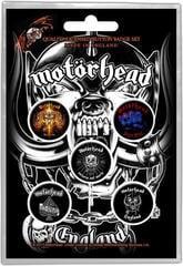 Motörhead England Button Badge Set