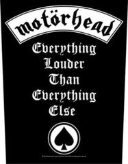 Motörhead Everything Louder Backpatch