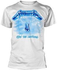 Metallica Ride The Lightning White XL