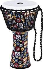 Meinl Travel Series Djembe 10'' Day of the Dead Finish Fiberhead