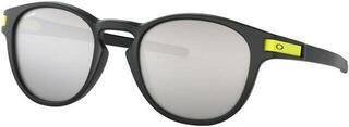 Oakley Latch Valentino Rossi Matte Black/Chrome Iridium