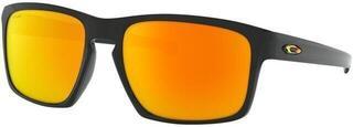 Oakley Sliver Valentino Rossi Polished Black/Fire Iridium