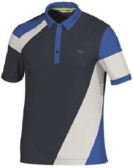 Brax Paco Luis Mens Polo Shirt Blue Navy