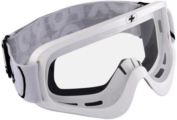 Oxford Fury Goggle - Glossy White