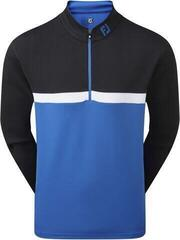 Footjoy Colour Blocked Chillout Mens Sweater Black/Royal/White