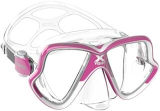 Mares X-Vision Mid 2.0 Clear/Pink White