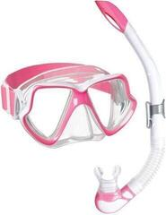 Mares Combo Wahoo Neon Clear/Pink White
