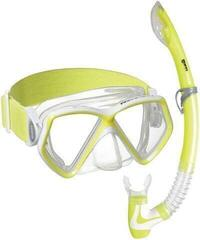 Mares Combo Pirate Neon Clear/Yellow White