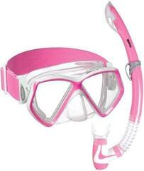 Mares Combo Pirate Neon Clear/Pink White