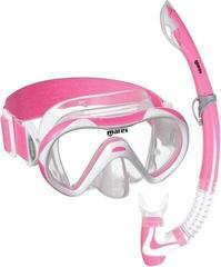 Mares Combo Vento Jr Neon Clear/Pink White