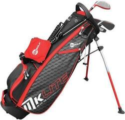 MKids Golf Lite Half Set Right Hand Red 53in - 135cm