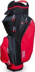 Masters Golf T900 Trolley Bag Black/Red