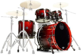Mapex Saturn V Exotic MH Rock Fast Cherry Mist Maple Burl