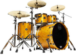 Mapex Saturn V Exotic MH Rock Fast Amber Maple Burl Burst
