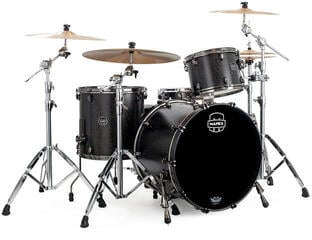Mapex Saturn V MH Exotic Rock Flat Black Maple Burl