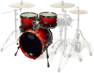 Mapex Saturn V MH Exotic Rock Cherry Mist Maple Burl