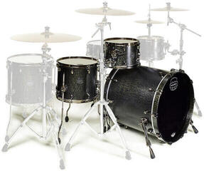 Mapex Saturn V MH Exotic Jazz Flat Black Maple Burl