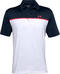 Under Armour Playoff 2.0 Mens Polo Shirt White/Academy