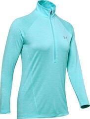 Under Armour Tech 1/2 Zip Twist Womens Sweater Blue Haze