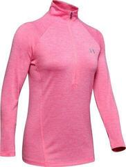 Under Armour Tech 1/2 Zip Twist Womens Sweater Lipstick