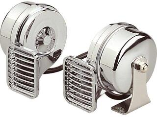 Marco MT2 Set of chromed horns 24V