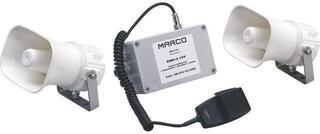 Marco EMH-2 Avertisseur électronique avec 2 haut parleurs + mic. + sirène 12V