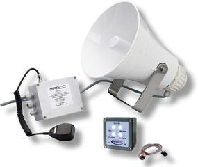 Marco EW3-MS Electronic whistle 20/75m +fog signal +mic.+siren