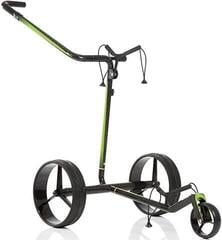 Jucad Carbon Travel 2.0 Electric Golf Trolley Black/Green