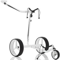 Jucad Carbon Travel 2.0 Electric Golf Trolley White/Black