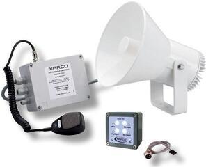 Marco EW2-MS Electr. whistle 12/20 m + fog signal + mic + siren 24V