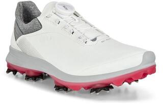 Ecco Biom G3 Womens Golf Shoes White/Pink