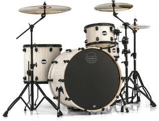 Mapex Mars 4 Piece Rock 24 Shell Pack Bonewood
