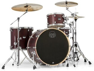 Mapex Mars 4 Piece Rock 24 Shell Pack Bloodwood